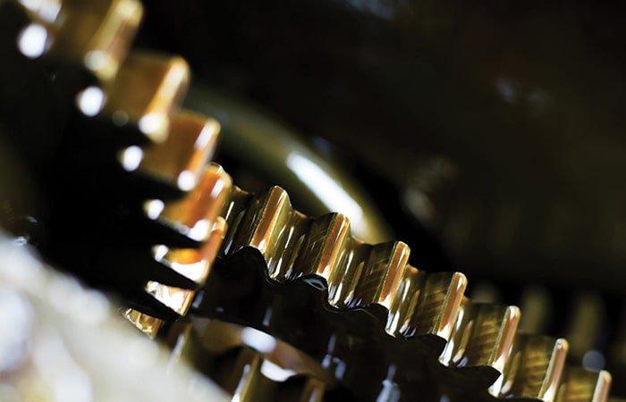 تاثیر روغن صنعتی در کاهش اصطکاک چرخ دنده ها